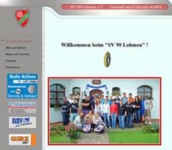 SV 90 Lohmen Webseite