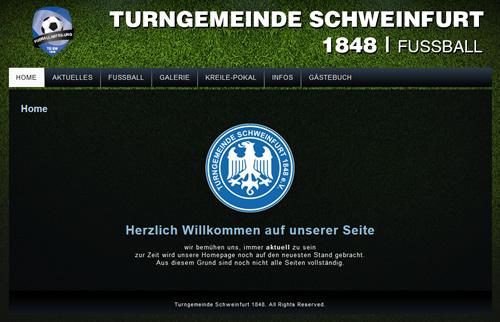 TG Schweinfurt Webseite