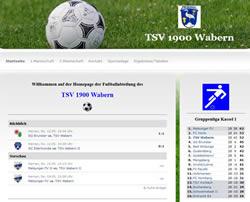 TSV Wabern Webseite